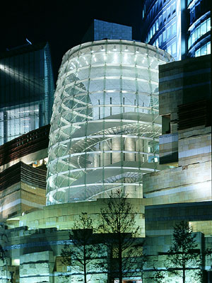 image of mori tower, from archrecord.com