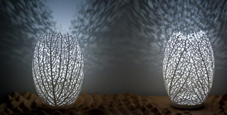 Hyphae Lamps