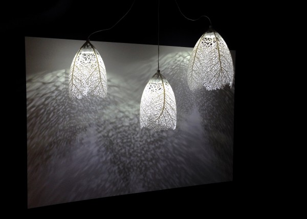 Hyphae Pendant Lamps hanging at MAD