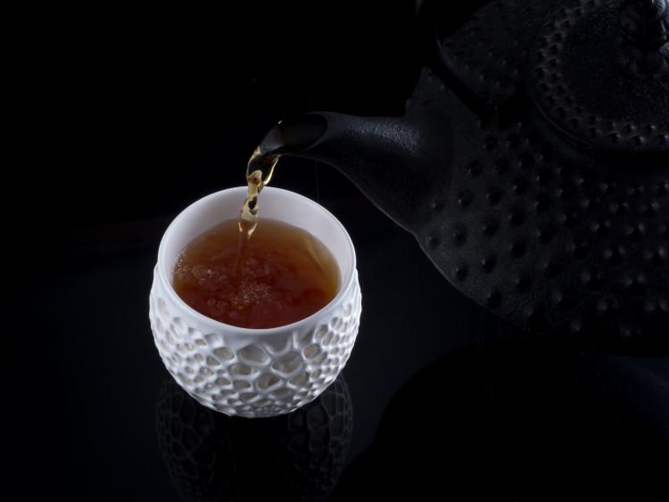 3D-printed porcelain cup