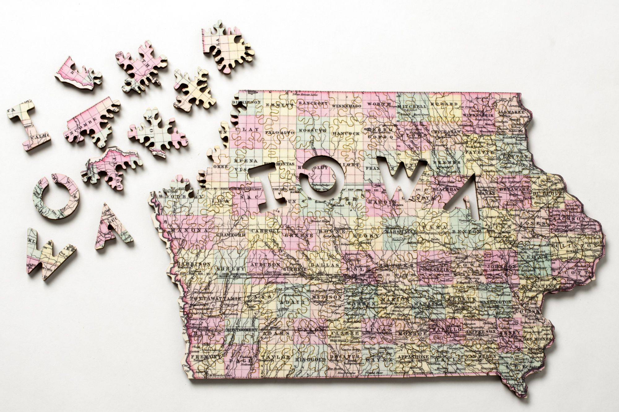 Geode, Maze, and Custom Jigsaw Puzzles | Nervous System blog