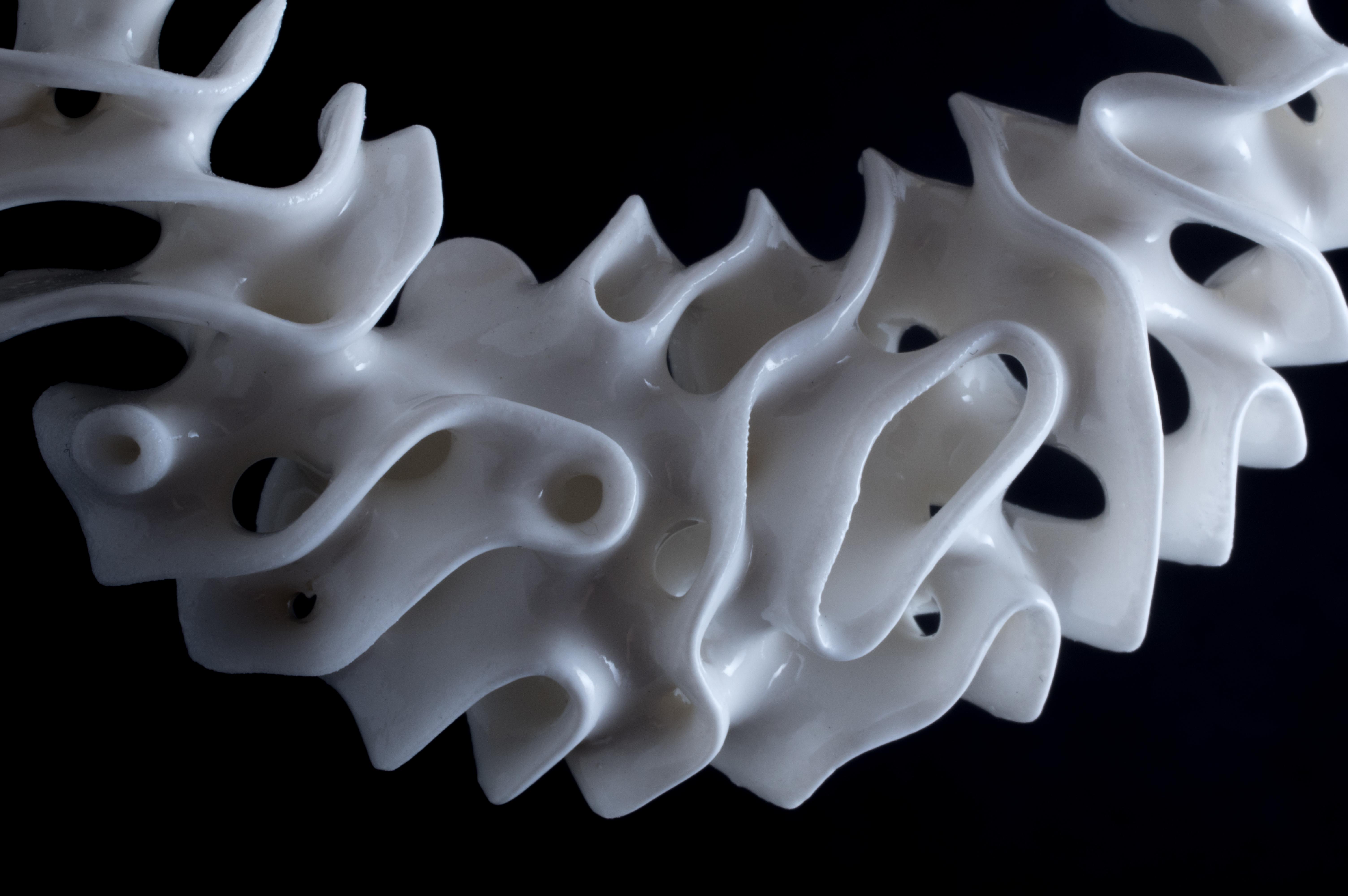 Porifera – 3D printed ceramic jewelry | Nervous System blog