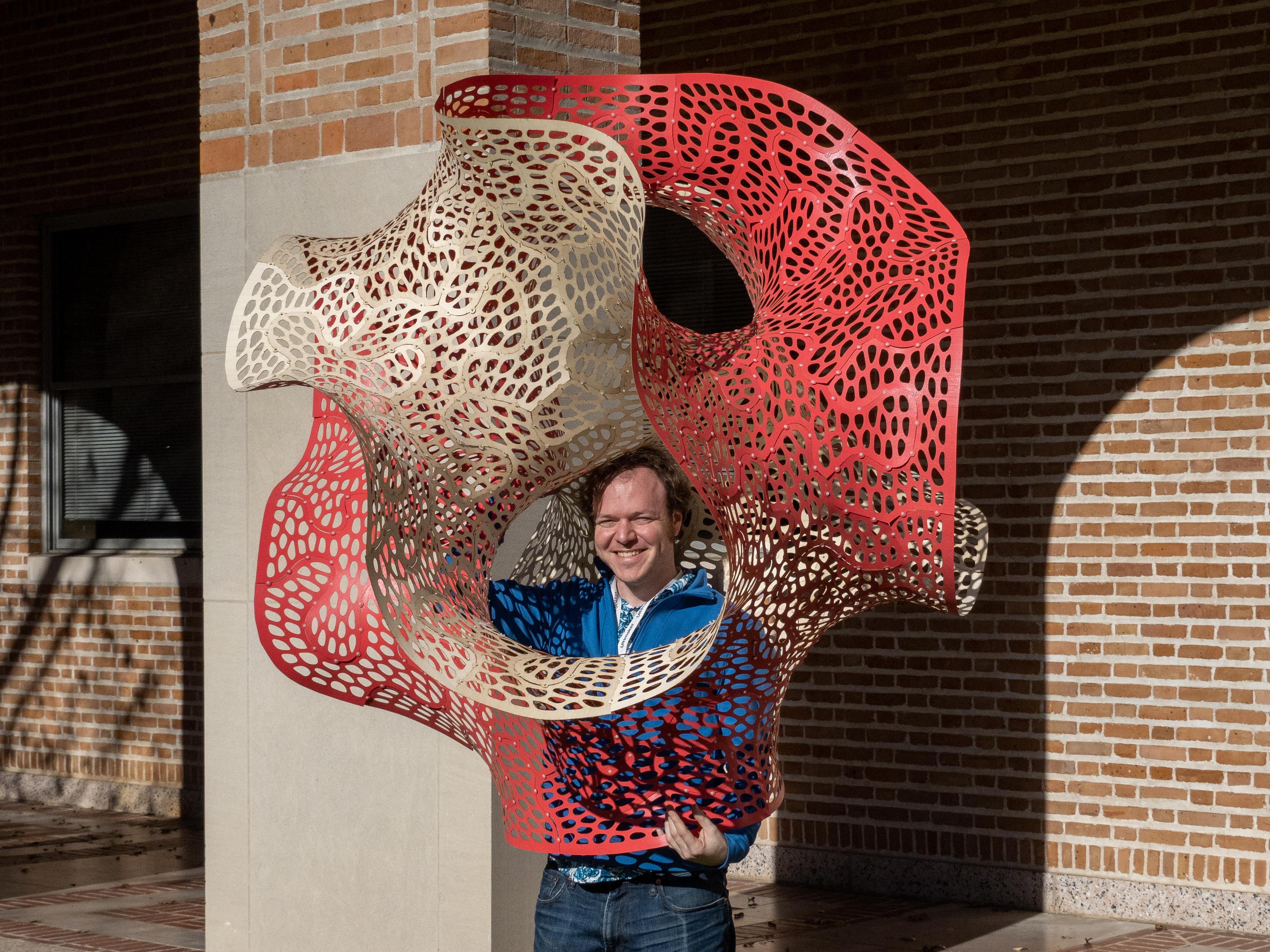 Puzzle Cell Complex: a sculpture for Construct3D