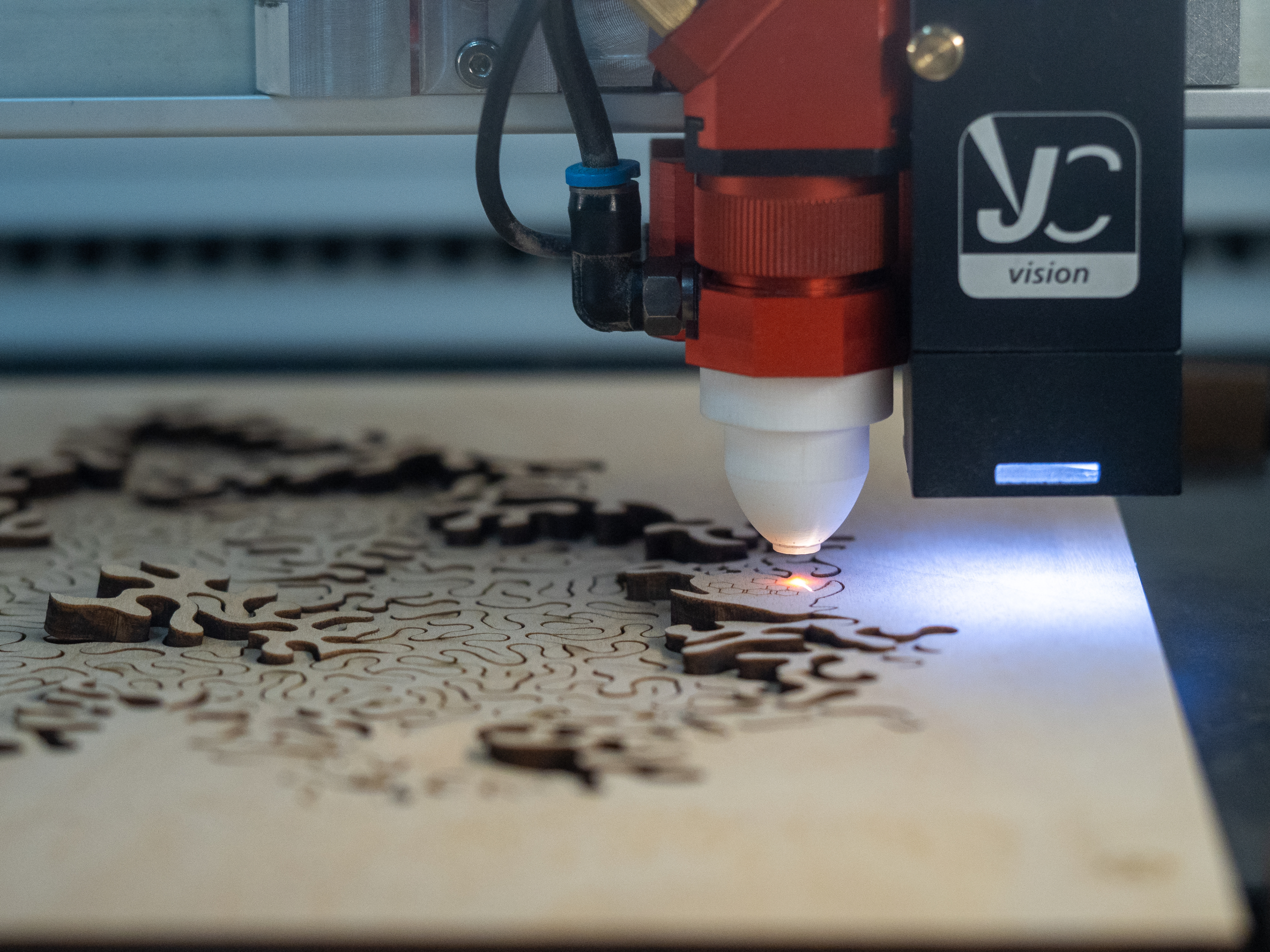 the secret to clean laser cutting: Designing a better laser nozzle using 3D-printing