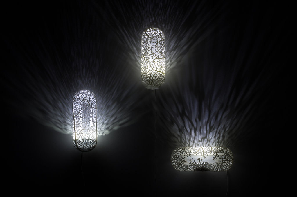 Hyphae sconces