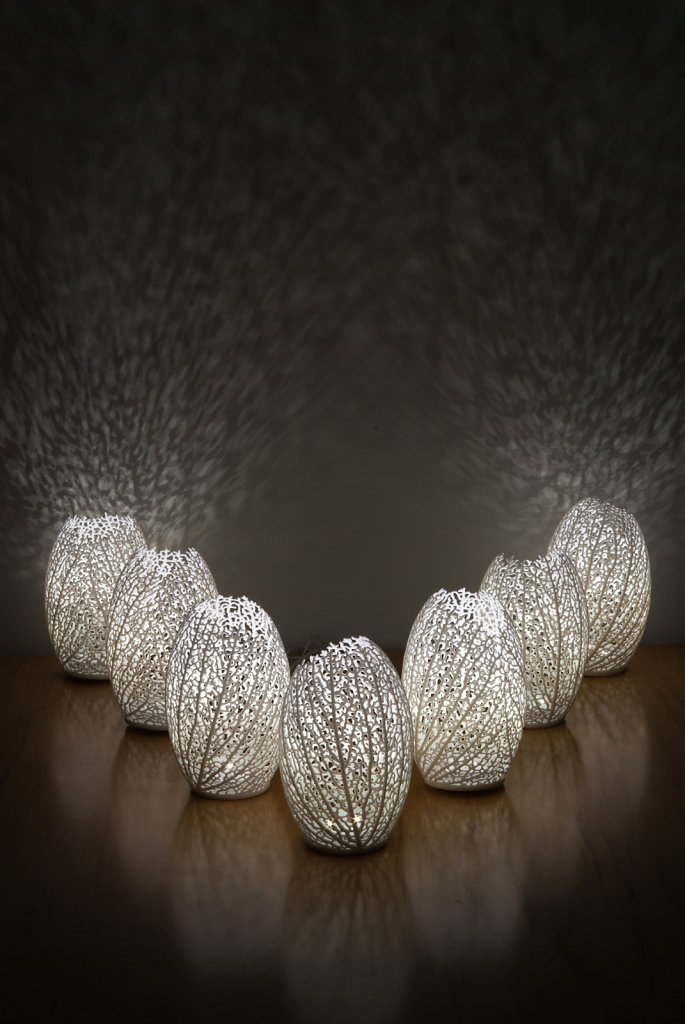 a group of Hyphae Lamps