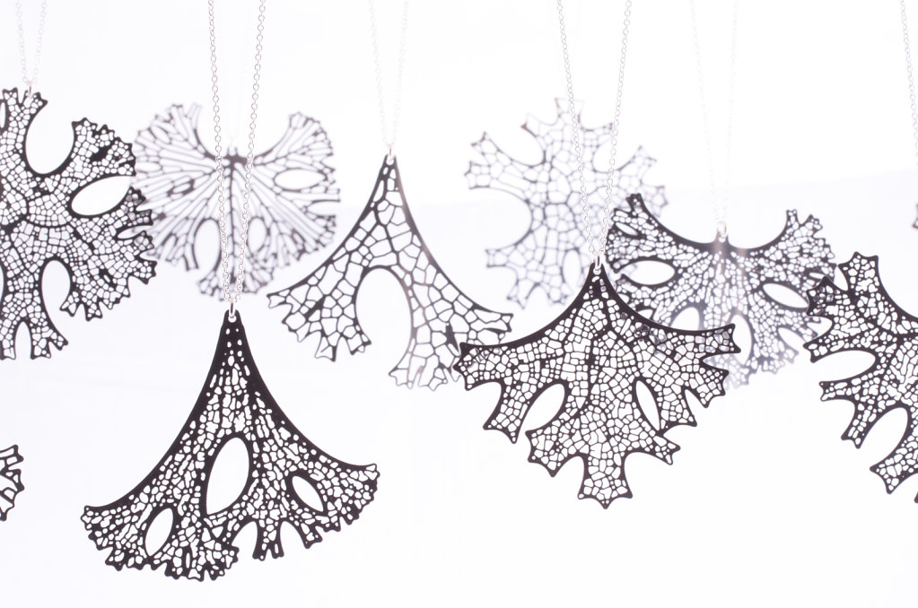Folium Pendants - each is one of a kind