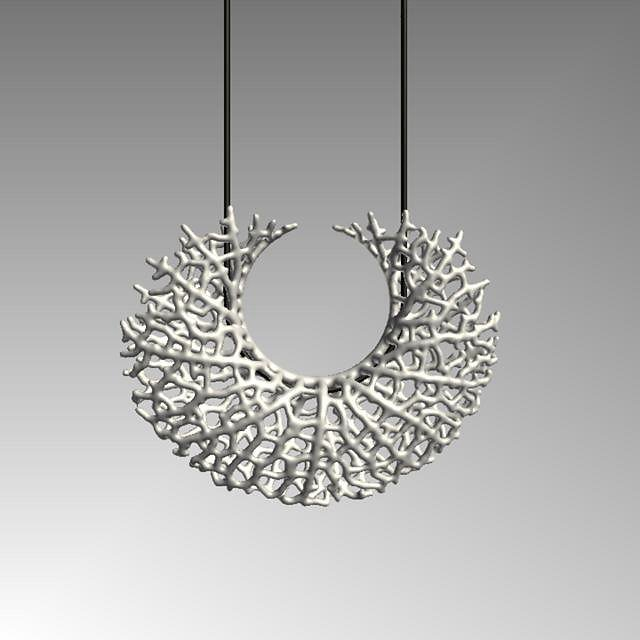 Hyphae - growth of the Vessel Pendant