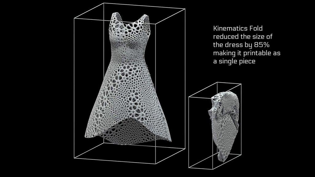 Kinematics Fold simulation
