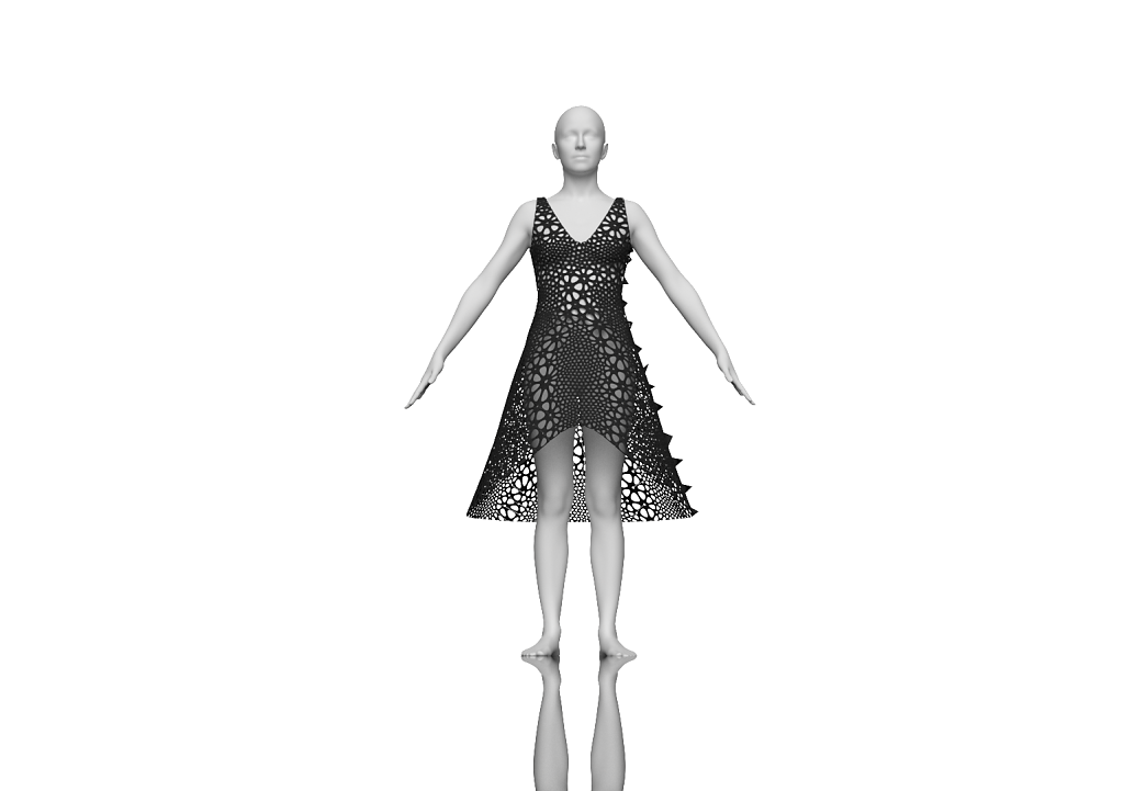 Kinematics Dress 3