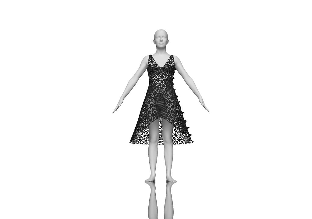 rendering of Dress 3
