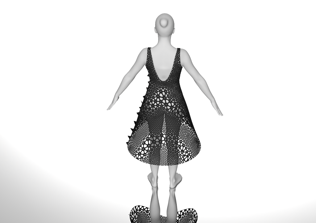 rendering of Dress 3