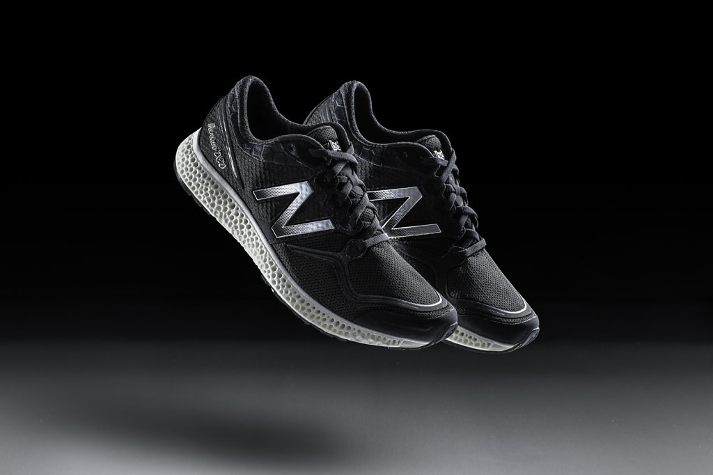 new balance shoes with 3D-printed midsoles