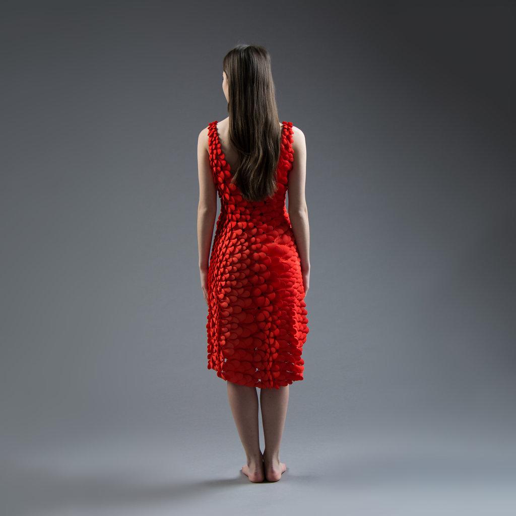 Kinematic Petals Dress