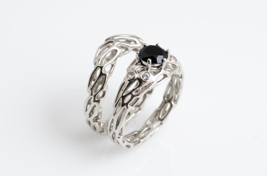 custom palladium wedding ring